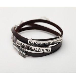Artisan Arrow Wrap Bracelet